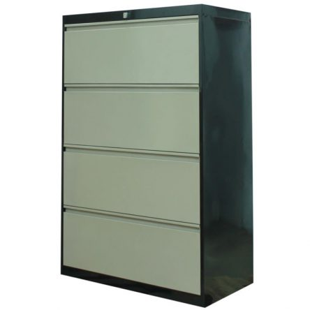 4-Drawer Lateral Filing Cabinet